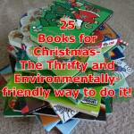 25 Books For Christmas – The Thrifty and Environmentally-friendly way to do it!